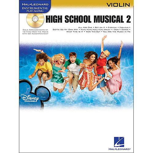 Hal Leonard High School Musical 2 for Violin Book/CD