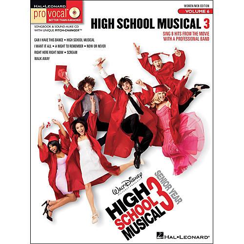 Hal Leonard High School Musical 3 - Pro Vocal Series Vol. 6 for Women/Men Songbook & CD