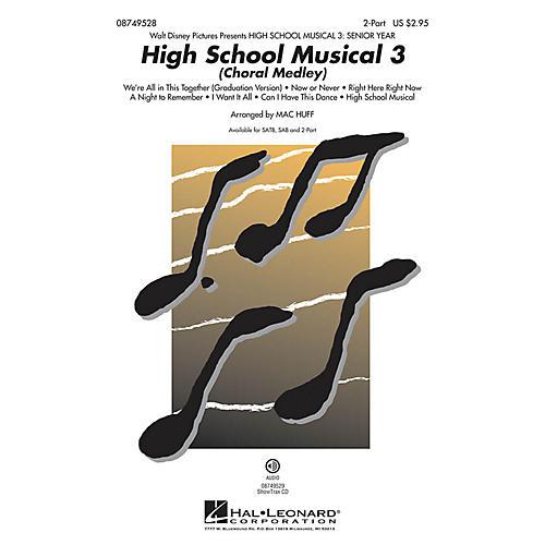 Hal Leonard High School Musical 3 (Choral Medley) 2-Part arranged by Mac Huff