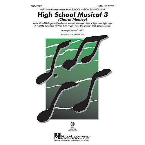 Hal Leonard High School Musical 3 (Choral Medley) SAB arranged by Mac Huff