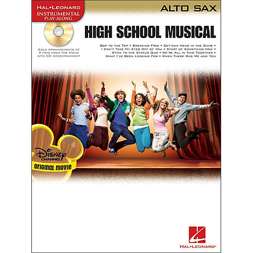Hal Leonard High School Musical for Alto Sax Book/CD