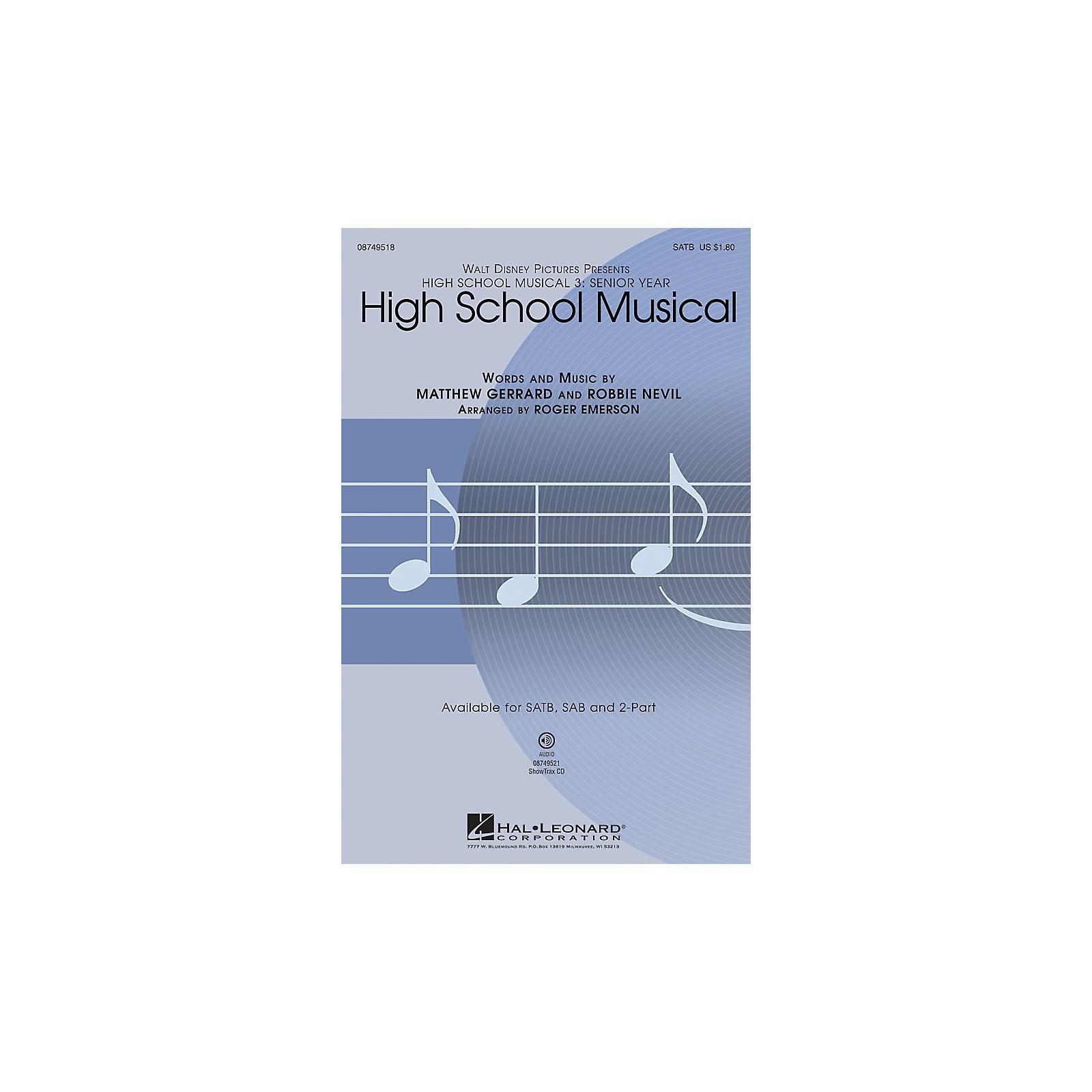 Hal Leonard High School Musical (from High School Musical 3) 2-Part Arranged by Roger Emerson
