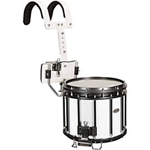 High-Tension Marching Snare Drum with Carrier 13 x 11 in. White