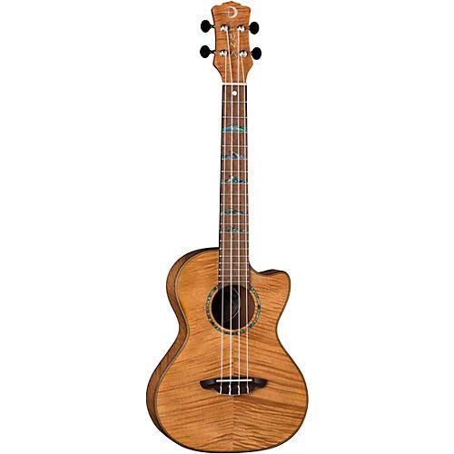 Luna Guitars High Tide Exotic Mahogany Tenor Ukulele