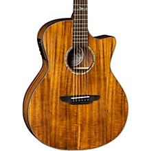 Luna Guitars High Tide Exotic Wood Cutaway Grand Concert Acoustic-Electric Guitar