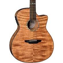 High Tide Exotic Wood Cutaway Grand Concert Acoustic-Electric Guitar Mahogany