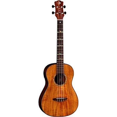 Luna Guitars High Tide Koa Baritone Acoustic-Electric Ukulele
