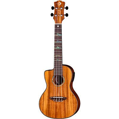 Luna Guitars High Tide Koa Left-Handed Acoustic-Electric Ukulele