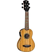 Luna Guitars High Tide Zebrawood Acoustic-Electric Ukulele