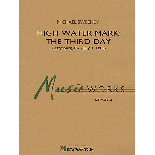 Hal Leonard High Water Mark: The Third Day Concert Band Level 2 Composed by Michael Sweeney