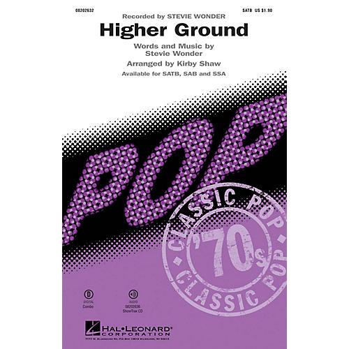 Hal Leonard Higher Ground SSA by Stevie Wonder Arranged by Kirby Shaw