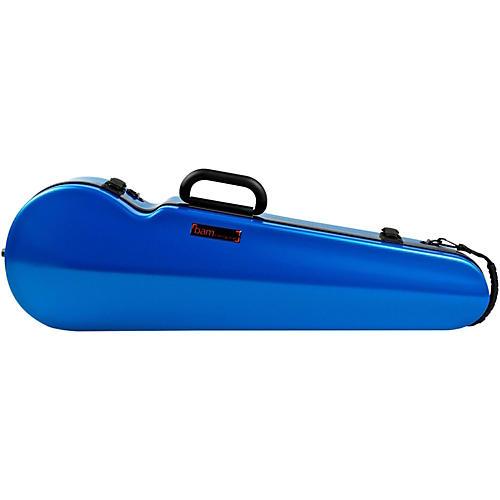 Bam Hightech Contoured Violin Case Azure Blue