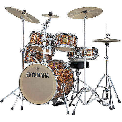 Yamaha Hipgig Sr A Foster Jaguar Drum Set with 10