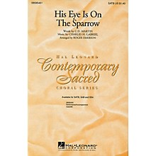 Hal Leonard His Eye Is on the Sparrow SATB arranged by Roger Emerson