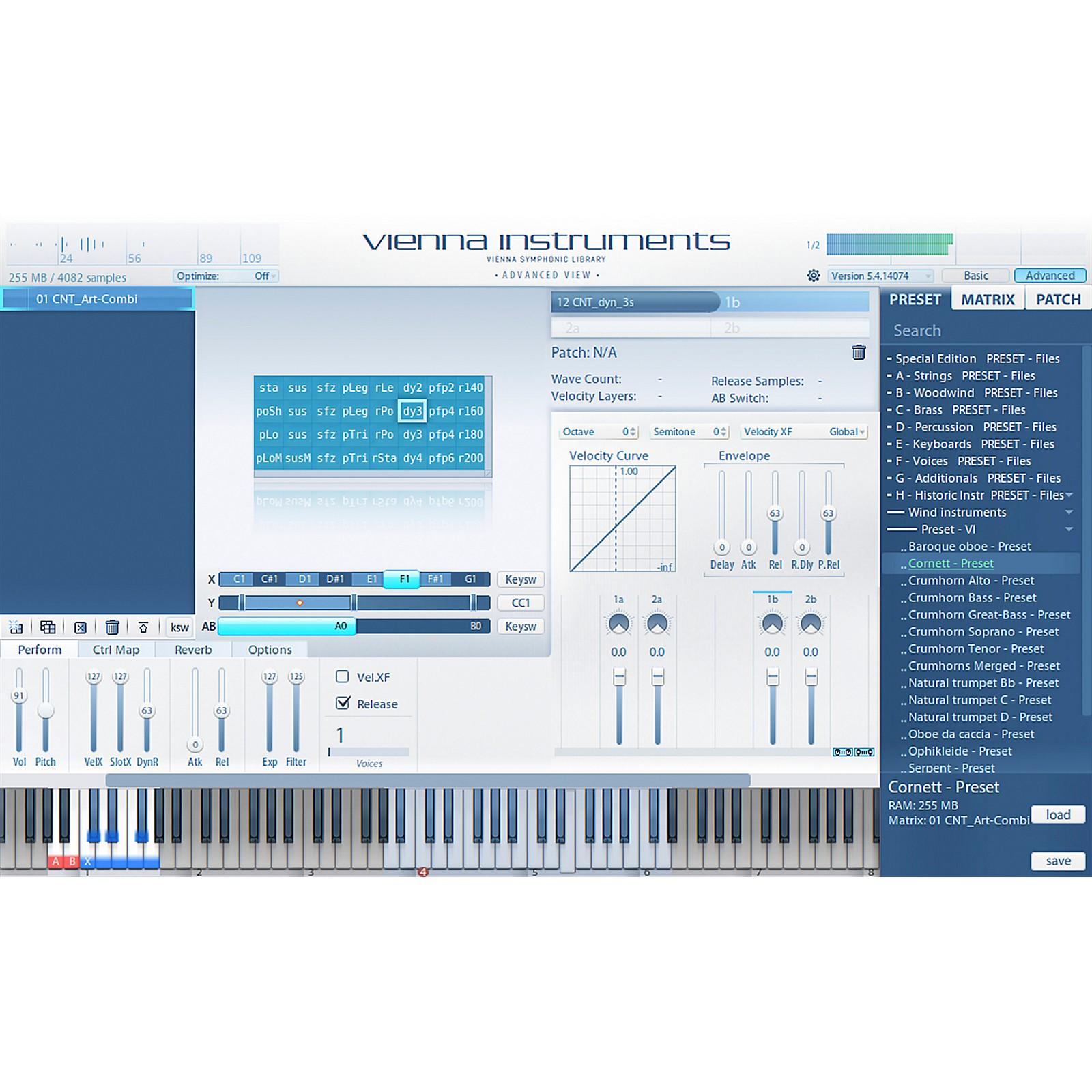 Vienna Instruments Historic Winds II