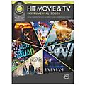 Alfred Hit Movie & TV Instrumental Solos Trumpet Book & CD Level 2-3 thumbnail