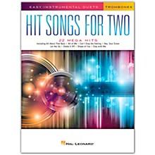 Hal Leonard Hit Songs for Two Trombones - Easy Instrumental Duets