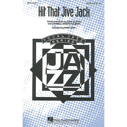 Hal Leonard Hit That Jive Jack SATB arranged by Kirby Shaw