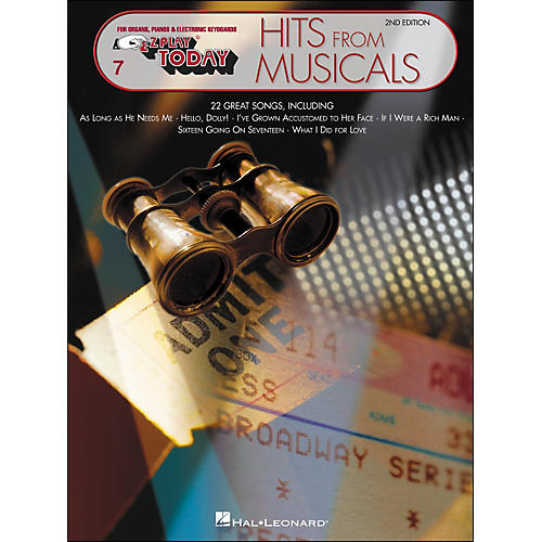 Hal Leonard Hits From Musicals 2nd Edition E-Z Play 7