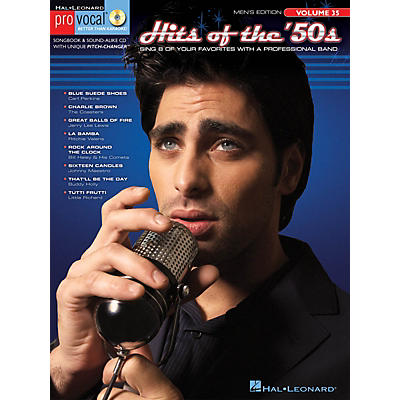 Hal Leonard Hits of the '50s (Pro Vocal Men's Edition Volume 35) Pro Vocal Series Softcover with CD by Various