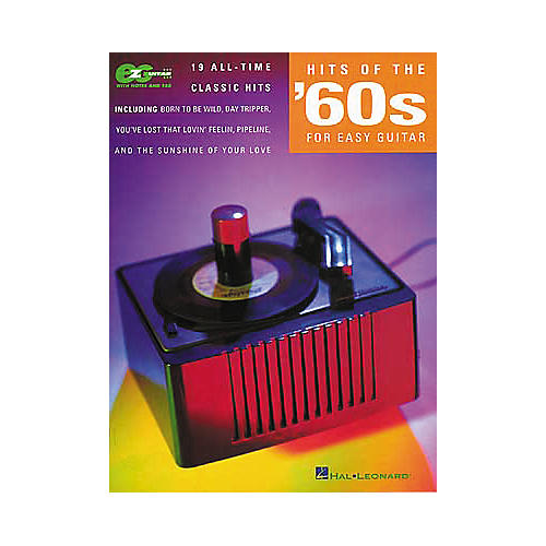 Hal Leonard Hits of the 60's for Easy Guitar Book