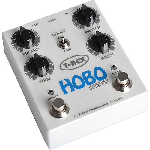 T-Rex Engineering Hobo Drive Overdrive and Preamp Guitar Effects Pedal