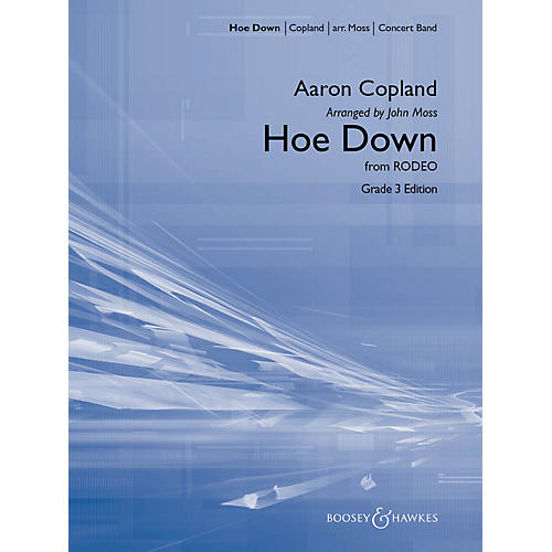 Hal Leonard Hoe Down (from Rodeo) Score Only - Young Band Concert Band