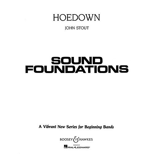 Boosey and Hawkes Hoedown (for Beginning Band) Concert Band Level 1.5 Composed by John Stout