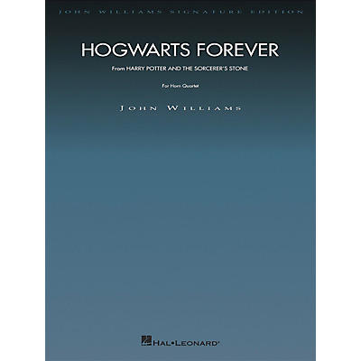 Hal Leonard Hogwarts Forever (from Harry Potter) John Williams Signature Edition - Brass by John Williams