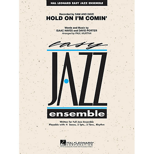 Hal Leonard Hold on I'm Coming Jazz Band Level 2 Arranged by Paul Murtha
