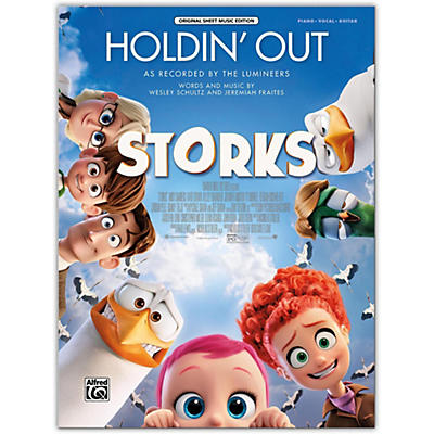 Alfred Holdin' Out (from Warner Bros. Pictures Storks) Piano/Vocal/Guitar