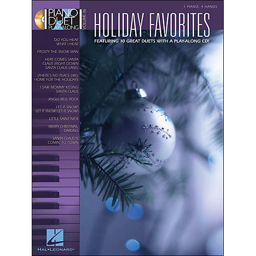 Hal Leonard Holiday Favorites - Piano Duet Play-Along Volume 36 (Book/CD)