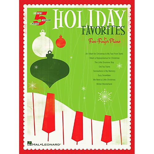 Hal Leonard Holiday Favorites For Five-Finger Piano