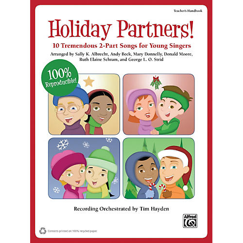 Alfred Holiday Partners! Book & CD
