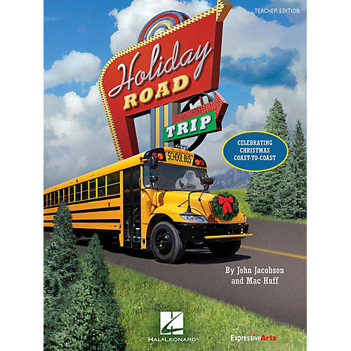 Hal Leonard Holiday Road Trip (Celebrating Christmas Coast-to-Coast) PREV CD Composed by John Jacobson