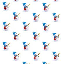 Hal Leonard Holiday Snowman Premium Gift Wrapping Paper