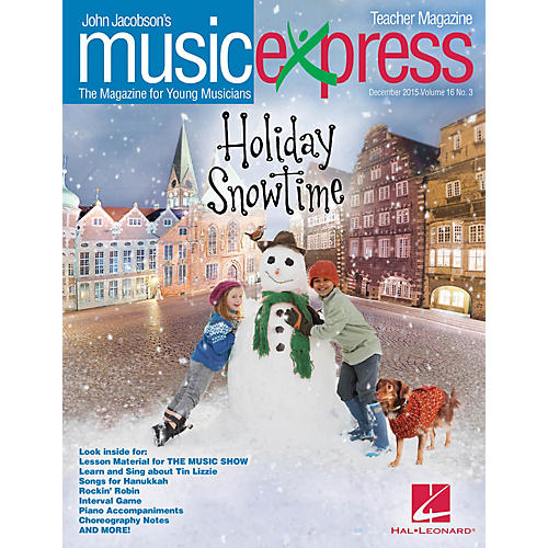 Hal Leonard Holiday Snowtime Vol. 16 No. 3 (December 2015) PREMIUM COMPLETE PAK Arranged by Roger Emerson
