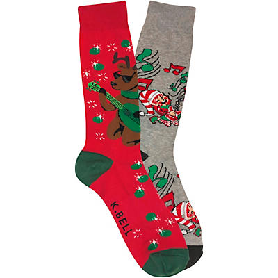 K. Bell Holiday Socks, 2-Pack
