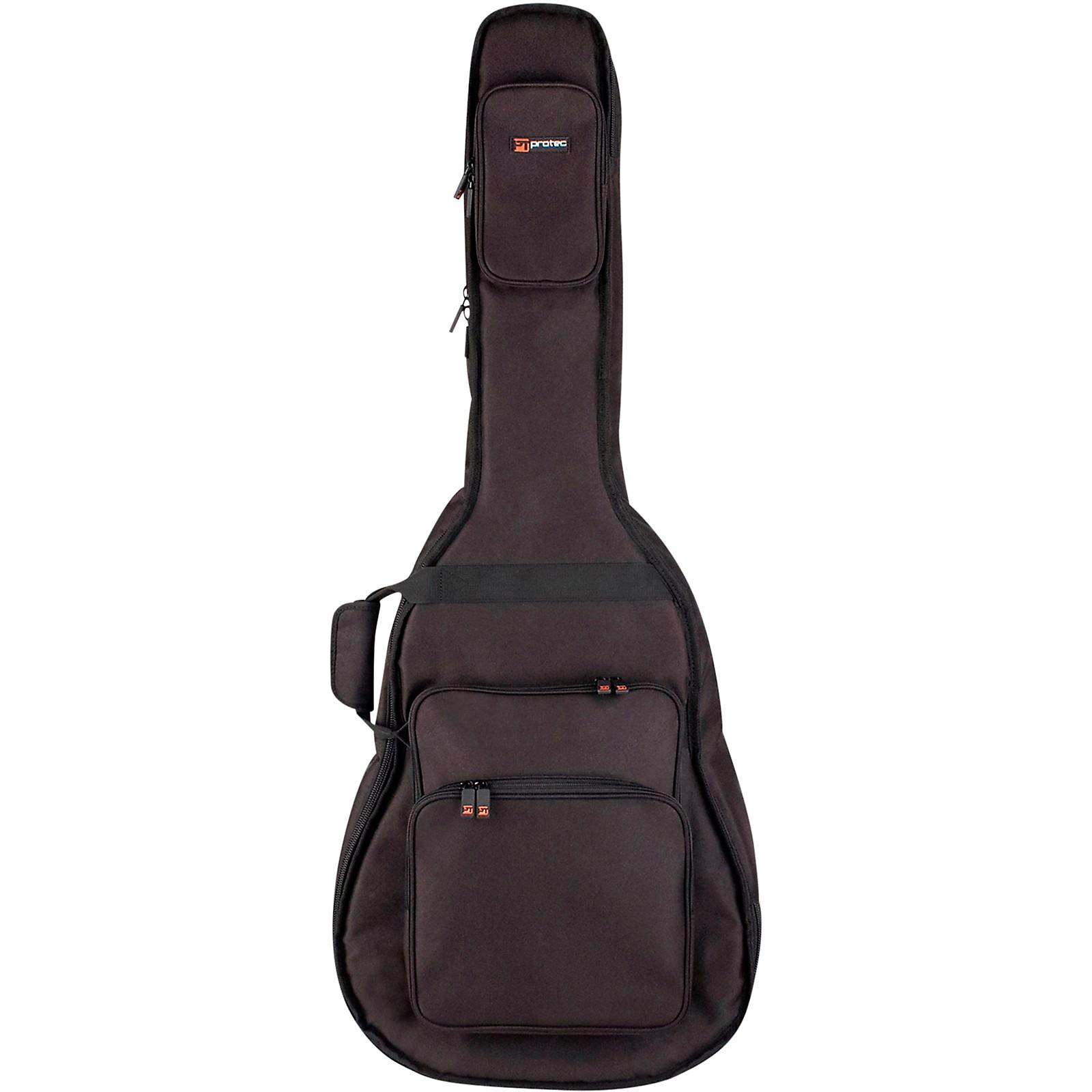 Protec Hollow Body Electric Guitar Gig Bag-Gold Series