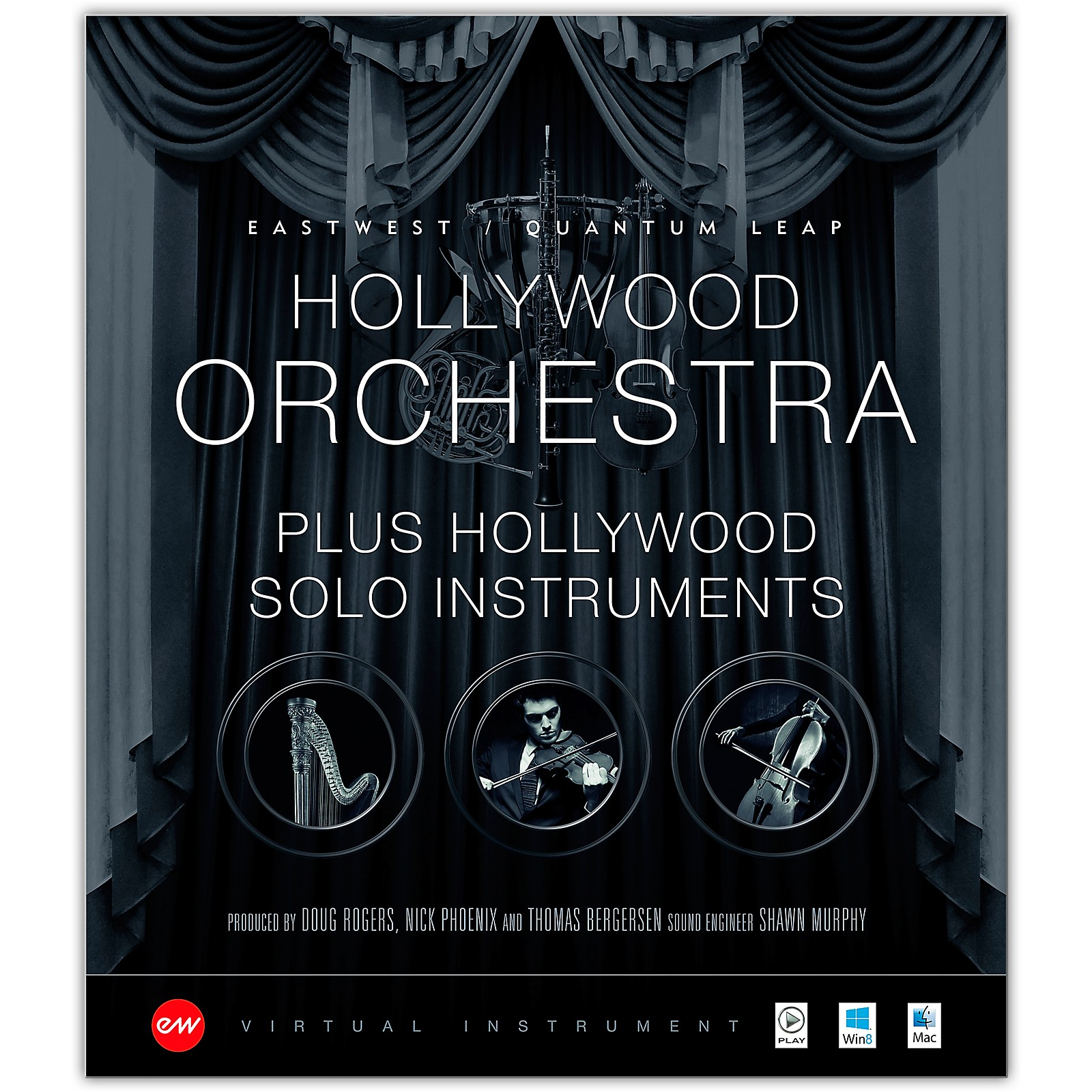 EastWest Hollywood Orchestra + Solo Instruments Bundle - Gold