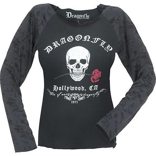 Dragonfly Clothing Hollywood Women's Raglan Shirt