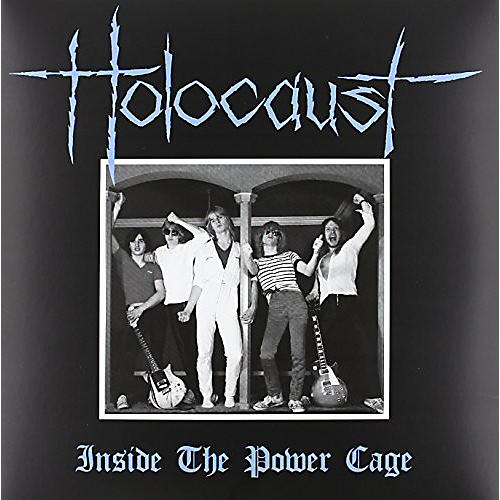 Alliance Holocaust - Inside The Power Cage (Blood Red Vinyl)