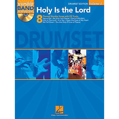 Hal Leonard Holy Is the Lord - Drum Edition Worship Band Play-Along Series Softcover with CD Composed by Various