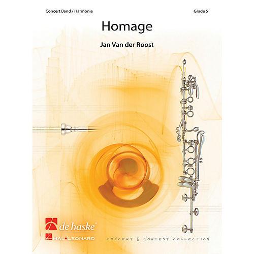 De Haske Music Homage Concert Band Level 5 Composed by Jan Van der Roost