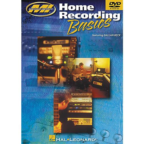 Musicians Institute Home Recording Basics (DVD)