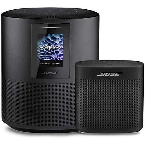 Bose Home Speaker 500 and Soundlink Color II Speaker Black