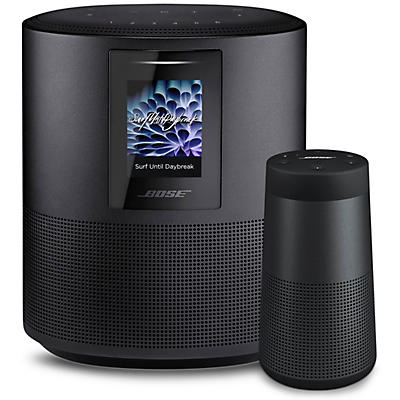 Bose Home Speaker 500 and Soundlink Revolve