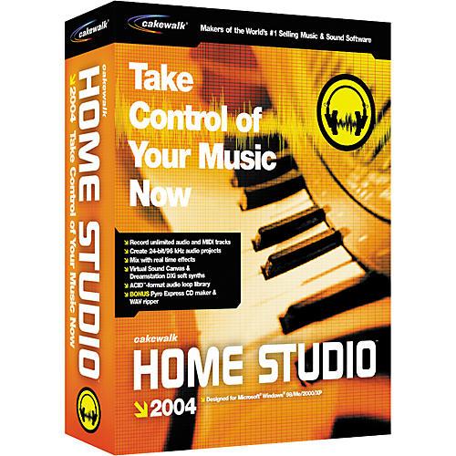 Cakewalk Home Studio 2004 Free download