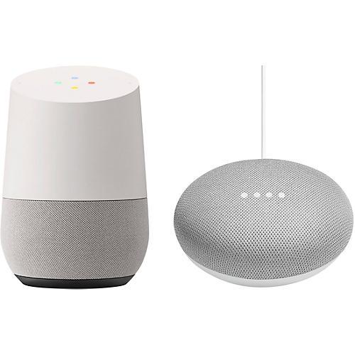 Google Home and Home Mini bundle