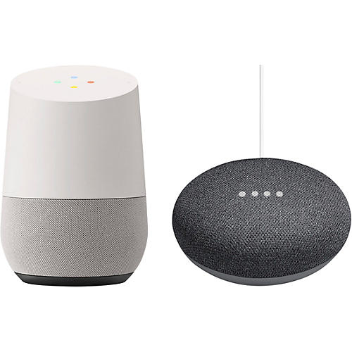 Google Home and Home Mini bundle